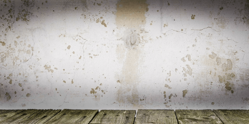 stained wall